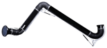 08549537 Odciąg stanowiskowy, ramię odciągowe ze ssawką z lampką halogenową i transformatorem, wersja stojąca ERGO-LL/Z-4-R (średnica: 160 mm, długość: 4 m)