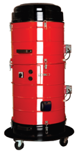 08549650 Urządzenie filtrowentylacyjne wysokiego podciśnienia z turbiną ssącą, wersja z automatyczną regeneracją filtra TENDER-VAC-200-S (pojemność zbiornika: 15 dm3, moc: 1,6 kW, wydajność: 225 m3/h)