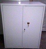 77157091 Szafa biurowa wzmocniona, 2 półki regulowane (wymiary: 1250x800x500 mm)