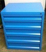 77157282 Szafa narzędziowa, 5 szuflad (wymiary: 840x700x560 mm)