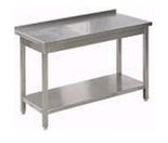 77157531 Stół nierdzewny z półką, gastronomiczny (wymiary: 1000x600x850 mm)