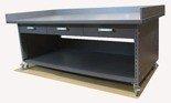 91059976 Stół roboczy na kółkach z trzema szufladami (blat: 130x78 cm, wys: 78 cm)