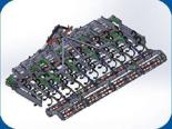 95247930 Agregat uprawowy U 382 składany hydraulicznie (szerokość robocza: 5 m, liczba zębów: 50, zapotrzebowanie mocy: 120 KM)