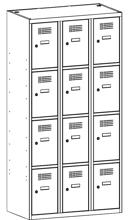 99552026 Szafka ze schowkami 0,5mm, 12 drzwi (wymiary: 1800x900x500 mm)