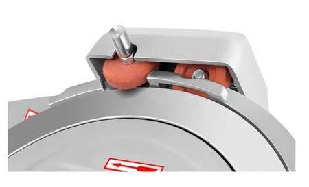 45643463 Krajalnica elektryczna do wędlin, mięsa i serów Royal Catering RCAM 300PRO (moc: 280W, średnica noża: 300mm, grubość cięcia: 0-16mm)