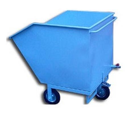 77157393 Wózek przechylny-wywrotnica, 250 L (wymiary: 960x800x1220 mm)