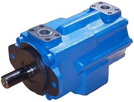 DOSTAWA GRATIS! 01539222 Pompa hydrauliczna łopatkowa dwustrumieniowa B&C (objętość robocza: 70,3 + 37,1 cm³, maks. prędkość: 2200 min-1 /obr/min)
