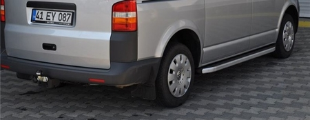 DOSTAWA GRATIS! 01655692 Stopnie boczne - Ford Transit Custom long (długość: 235 cm)