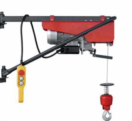DOSTAWA GRATIS! 08115156 Wciągarka elektryczna linowa budowlana + lina 30m + sterowanie ręczne 1,5m (udźwig: 200 kg)