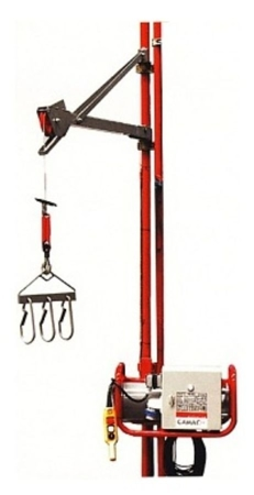 DOSTAWA GRATIS! 08126411 Wciągarka elektryczna linowa budowlana + lina 70m + sterownik z kablem 3m (udźwig: 80 kg)