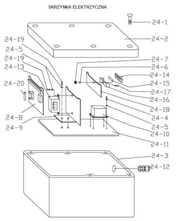 DOSTAWA GRATIS! 3109775 Stół podnośny elektryczny  (wymiary platformy: 850x2000 mm, udźwig: 2000 kg, wysokość podnoszenia min/max: 250-1300 mm)