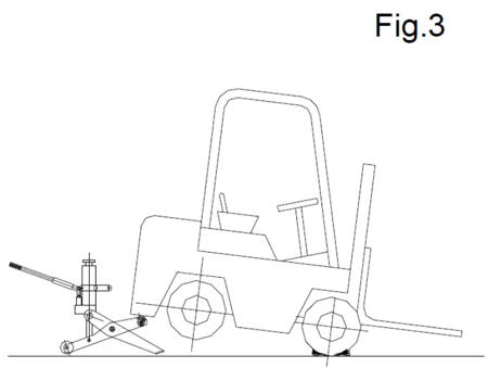 DOSTAWA GRATIS! 3109790 Podnośnik hydrauliczny wózków widłowych (udźwig: 4 T)