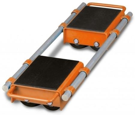 DOSTAWA GRATIS! 32240167 Podwójne rolki transportowe Unicraft (udźwig: 12 t)
