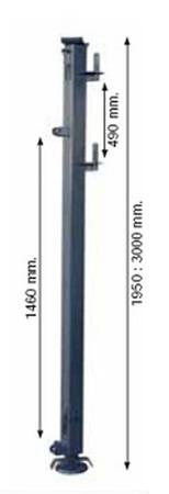 DOSTAWA GRATIS! 37515648 Maszt wysoki rozporowy (1950 - 3000mm)