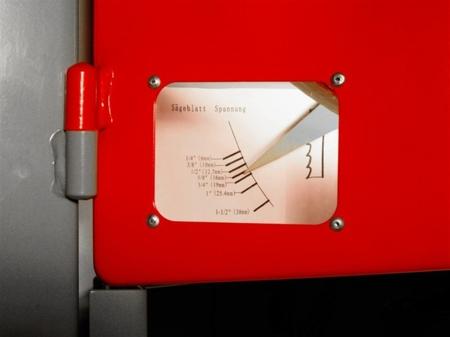 DOSTAWA GRATIS! 44349942 Piła taśmowa Holzmann 400V (wymiary obrabianego przedmiotu: 465/290 mm, wymiary blatu: 535x485 mm)