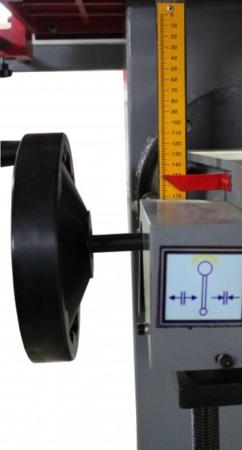 DOSTAWA GRATIS! 44350001 Wiertarka pozioma Holzmann 230V (max. długość obróbki: 250 mm, wymiary blatu: 600x320 mm)