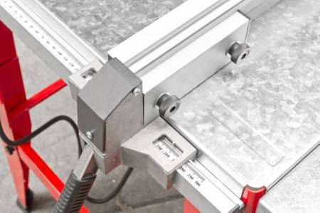 DOSTAWA GRATIS! 44350017 Tarczówka stolarska Holzmann 400V (max. średnica tarczy: 315 mm, wymiary blatu: 500x800 mm)