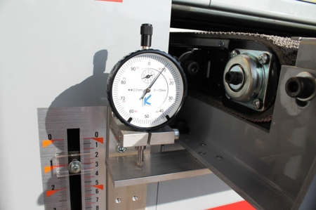 DOSTAWA GRATIS! 44350042 Szlifierka szerokotaśmowa dwu walcowa Holzmann 400V (max szer. szlifowania: 970 mm)