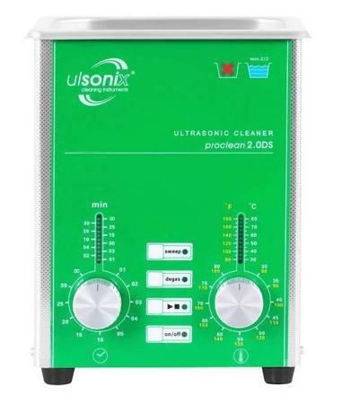 DOSTAWA GRATIS! 45643533 Oczyszczacz ultradźwiękowy Ulsonix (moc ultradźwiękowa: 80W, pojemność: 2L)
