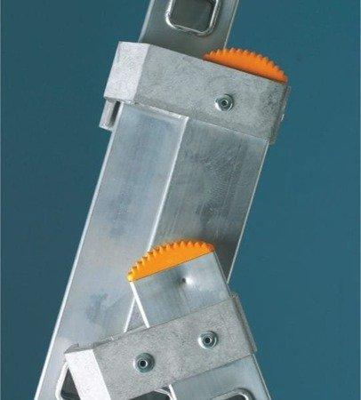 DOSTAWA GRATIS! 99674970 Drabina aluminiowa 3x10 FARAONE AK (wysokość robocza: 7,18m)