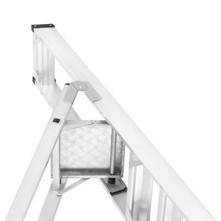 DOSTAWA GRATIS! 99675095 Drabina montażowa jednostronna ALOSS (wysokość robocza: 3,06m)