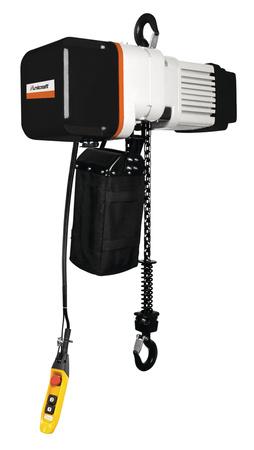 Elektryczna wciągarka łańcuchowa hakowa Unicraft z dwoma prędkościami podnoszenia (udźwig: 0,5 T, wysokość podnoszenia: 6m) 32276357