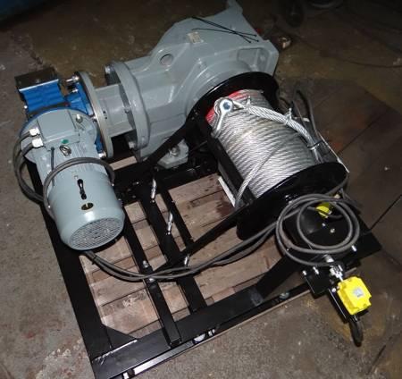 Elektryczna wciągarka linowa 220mb (siła uciągu: 3700/2500kg, moc: 5,5kW 400V) 28876808
