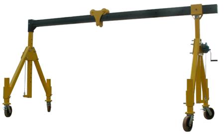 IMPROWEGLE Suwnica bramowa składana miproCrane (szerokość: 1605/3855mm, wysokość: 2022/3322mm, udźwig: 1500 kg) 33925022