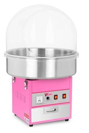 Maszyna do waty cukrowej z pokrywą Royal Catering (moc: 1,2kW, rozmiar garnka: 52cm) 45643429