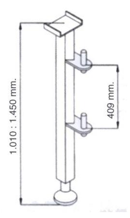 Niski maszt do wyciągarki 08115188