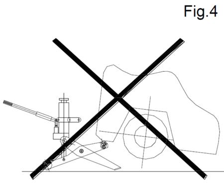 Podnośnik hydrauliczny wózków widłowych (udźwig: 7 T) 310658