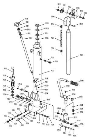 SWARK Wózek paletowy/platformowy podnośnikowy GermanTech (max wysokość: 85-1500 mm, udźwig: 400 kg, długość wideł: 650 mm) 99724818