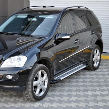 Stopnie boczne - Mercedes ML W166 2012- (długość: 193 cm) 01656045