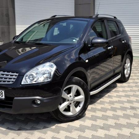 Stopnie boczne - Nissan Qashqai+2 2007-2013 (długość: 182 cm) 01655744