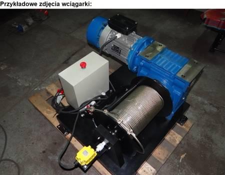 Treton Wciągarka oparta na  zespole motoreduktorów ślimakowego i walcowego 360mb (siła uciągu: 300 kg, moc: 2,2kW 400V) 28878823