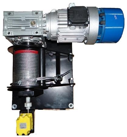 Tretos 28846320 Elektryczna wciągarka linowa (siła uciągu: 1100/1350 kg)