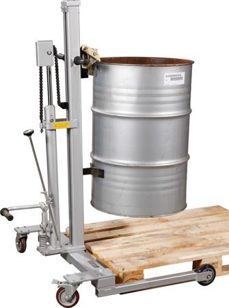 Wózek do beczek hydrauliczny (udźwig: 300 kg)31026276