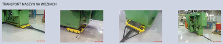 Wózek stały 6 rolkowy, rolki: 6x nylon (nośność: 6 T) 12235592